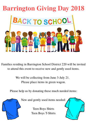 barrington giving day 2018